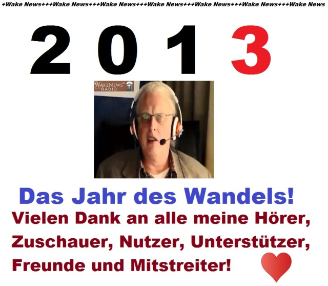 2013 Jahr des Wandels