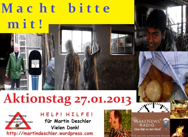 Aktionstag 27.01.2013