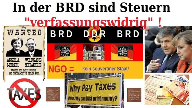 BRD Steuern verfassungswidrig