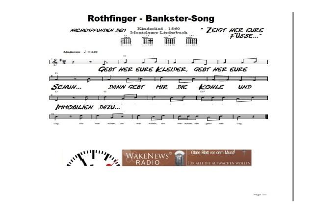 Rothfinger Bankster-Song