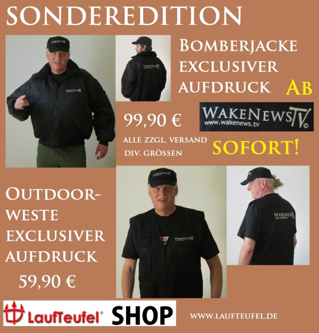 Bomberjacken und Outdoor-Westen Wake News TV